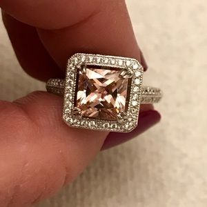 Jewelry - 4.53 Ct Princess cut antique engagement ring